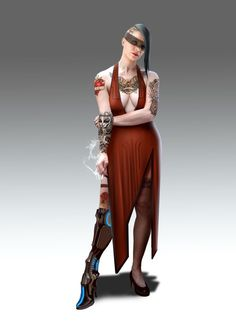 brothel concept art | 710 best images about Shadowrun Character - Female on Pinterest ...