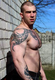 Horny Tattooed Studs Fucking