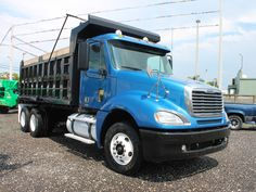 Used 2007 FREIGHTLINER COLUMBIA T/A Steel Dump Truck for sale in FL  #2602. More FREIGHTLINER T/A Steel Dump Trucks for sale Dump Trucks For Sale, Freightliner Trucks, Rigs, Columbia, Steel, Wedges, Colombia, Iron