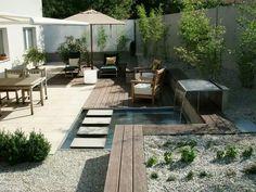 Kleiner Garten mit Wasser, Gärtner von Eden