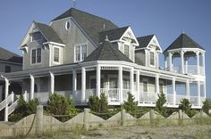 The Hamptons New York Mansions | Victorian Style Deck Design, Ellis Decks & Designs, Hamptons, NY