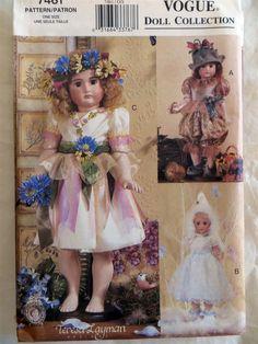 Vogue 7461 18 inch girl doll.