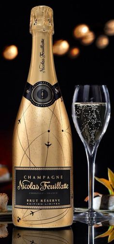 Ready for a glamourous evening?. *Nicolas Feuillatte Champagne
