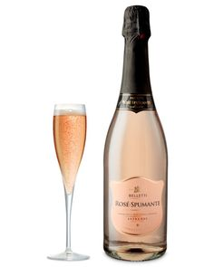 Belletti Rosé-Spumante is a classic and elegant Italian rosé sparkling wine, with intense summer fruits, pears and citrus freshness. Delicious served chilled as an apéritif.