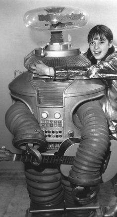 B9 ROBOT from LOST IN SPACE (original image cropped).