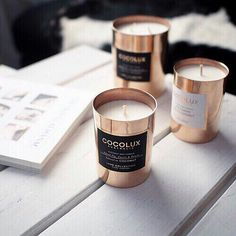 Getting cozy with our @cocolux_australia candles this morning! Who is ready for fall + winter? I know we are!    #Regram via @thesocialsociety