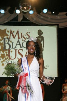 Miss Black Illinois USA 2013,Cortnee R. Smith. Member of Sigma Gamma Rho Sorority.