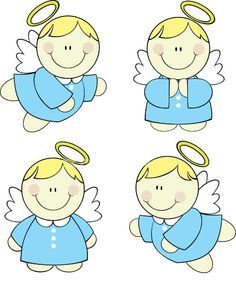 angelito caricatura para bautizo - Buscar con Google