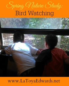 #Spring: A great time for #nature studies like bird watching!