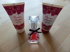unbenutzt. war ein Geschenk. Christina Aguilera Red Sin Eau de Parfum 15ml & Shower Gel 50ml & Body Lotion 50ml  #duft #ge...