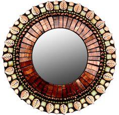 Gallery - Mirrors - Small Mirrors - Zetamari Mosaic Artworks