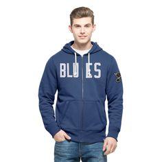 HL St. Louis Blues '47 Cross-Check Full-Zip Hoodie - Blue