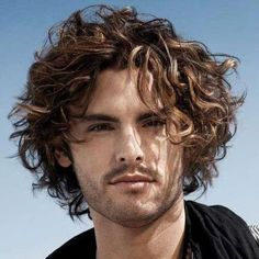 Medium Curly Haircuts for Men. Lovely Medium Curly Haircuts for Men - Handsomely forward First Haircut. 39 Best Curly Hairstyles Haircuts for Men 2019 Guide Curly Hair Styles, Haircuts For Curly Hair, Curly Hair Cuts, Hairstyles Haircuts, Haircuts For Men, Medium Hair Styles, Wavy Hair, 1950s Hairstyles, Popular Hairstyles
