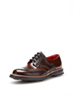 Farthingston Brogue Wingtip Shoes