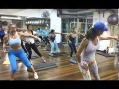 Tonifica tus músculos con un step .f4v - YouTube
