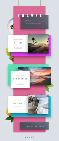 Travel poster design infographic 69 ideas Picture For Web Design jobs For Your TasteYou are looking for something, and it is going to tell you exactly what you are looking for, and you didn't find that picture. Web And App Design, Web Design Trends, Responsive Web Design, Layout Design, Design Café, Design Food, Flyer Design, Design Ideas, Webdesign Inspiration