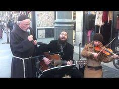 Rabbi Tomer and priest -Singing Hallelujah in Jerusalem...