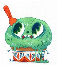 애들이 이렇게 불쌍하게 울면서 도망가는데 그래도 먹을래요?   전 잘먹습니다.ㅋㅋㅋ copyrightⓒkimsehee All Rights Reserved   캐릭터무단복사 도용 모두 금합니다.  www.ssebong.com Fun Illustration, Food Illustrations, Character Illustration, Character Drawing, Character Design, Mural Art, Cute Characters, Food Art, Amazing Art
