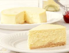 Two Step Cheesecake Recipe and Nutrition - Eat This Much Cheesecake Leger, Light Cheesecake, Lemon Cheesecake, Nutella Cupcakes, Cheese Cake Fromage Blanc, Desserts Panna Cotta, Cheese Recipes, Gourmet, Sweets