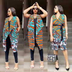 ankara mode 32 Ankara Kimono Styles 2019 : Stunning African Fashion Styles in Vogue Ankara Kimono Styles Hello ladies. Ankara kimono styles are trendy among fashion divas Short African Dresses, Latest African Fashion Dresses, African Print Dresses, African Print Fashion, Ankara Blouse, Ankara Dress Styles, Ankara Fashion Styles, African Attire, African Wear