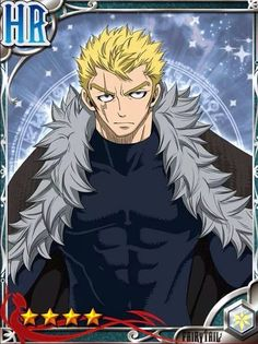 Fairy tail gree cards- Laxus