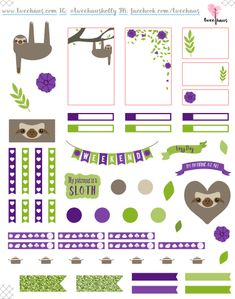 FREE This One's For You, Kristen Bell - free printable planner stickers for the ECLP or Happy Planner