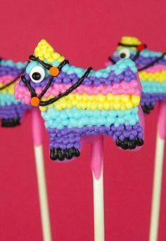 Piñata Cake Pops