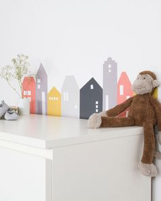 IKEA RIBBA / MOSSLANDA für Kinder Neue Kinderzimmerdeko! Einfach schön, Lille Hus!  Passt auch wunderbar auf die IKEA MALM Kommode! www.Limmaland.com