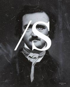 Shawn Huckins, Edgar Allan Poe: Sarcasm Noted, 2017. Acrylic on canvas, 20 x 16 in (51 x 41 cm).
