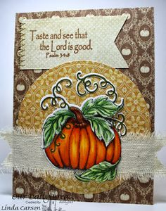 ODBDSLC175 Fall Themed Stamps - Our Daily Bread Designs Pumpkin, Fruit of the Spirit, ODBD Pumpkin Die