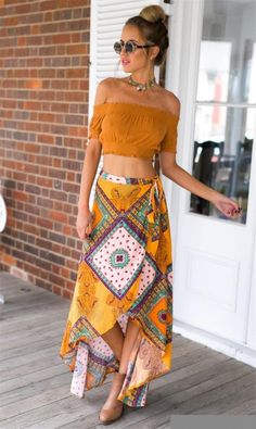 What a gorgeous outfit idea! | 30 Best Bohemian Summer Outfits to Wear in 2018