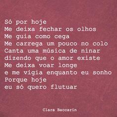 Clara Baccarin #amor