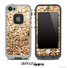 'glimmer-gold-skin-for-the-iphone-5-or-4-4s-lifeproof-case'