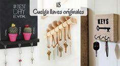 Estos 18 cuelga llaves originales te demostrarán que hay muchas opciones más allá de un simple cuenco donde dejar las llaves. Con los llaveros de pared...