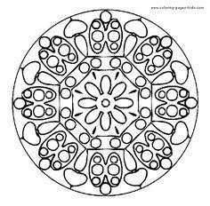 Free Printable Mandala Coloring Pages | ... page, coloring pages, color plate, coloring sheet,printable coloring