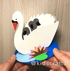 Paper crafts for kids card for mom mothers day Fall Crafts For Toddlers, Animal Crafts For Kids, Paper Crafts For Kids, Crafts For Kids To Make, Craft Activities For Kids, Toddler Crafts, Easy Easter Crafts, Christmas Crafts For Kids, Art Lessons For Kids