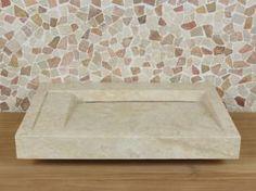 Aufsatzwaschbecken Marmor BE-4012 LW