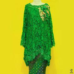Dress kebaya, lace midi dress @eiwaonline