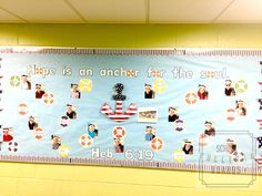 This adorable nautical themed bulletin board is wonderful for sharing verses with students and reminding them how important character traits are to their lives. New Classroom, Classroom Design, Classroom Displays, Classroom Ideas, Fourth Grade, Second Grade, Self Esteem Activities, Teaching First Grade, Character Trait