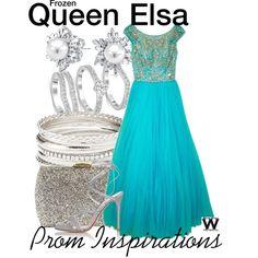 Inspired by Disney's Queen Elsa from 2013's Frozen