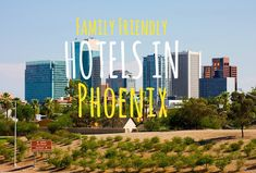 Traveling with your family? Here five of the top family friendly hotels in Phoenix that have activities bound to please everyone - including you.