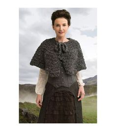Outlander Garment Crochet Kit-The Way Out Captivating Capelet