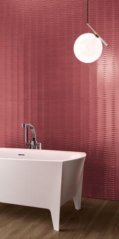 White-paste wall tiles COLOR FLOW by Ceramiche Supergres