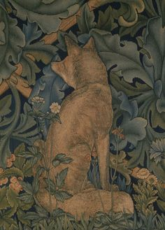 William Morris - PreRaphaelite - Designer - Wallpaper - The Forest