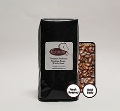 Lavanta Coffee Roasters Tanzania Peaberry Direct Trade Coffee Whole Bean 12 oz ** You can find out more details at the link of the image.