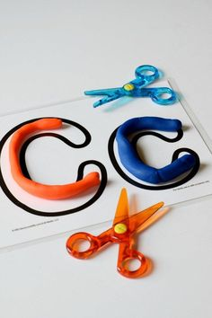 Three Year Old Homeschool Preschool: Letter C Playdoh Mat (Letter a Week Alphabet Activities) by This Little Home of Mine