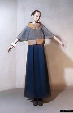 Russian Constructivist inspired  'Overground' AW'2013-2014 Fashion Collection // DZHUS