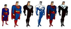 Superman_Evolution_by_samfire35.jpg 878×366 pixels