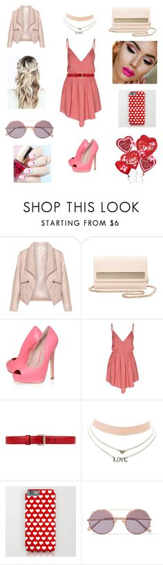 """""""Valentine's Day Date"""" by franci-romeo ❤ liked on Polyvore featuring Zizzi, Furla, KG Kurt Geiger, Glamorous, Gucci, Charlotte Russe, Sunday Somewhere and ncLA"""