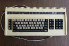 Vintage NCR Data Pathing Systems Keyboard Key Lock Air Force CRT Terminal